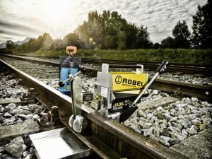 Battery powered Rail Drilling Machine