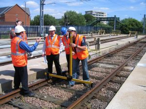 Overhead Track Equipment - Laser Height & Stagger