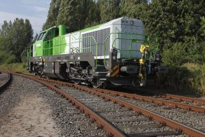 Diesel-electric locomotives type DE 12/DE 18 (four-axle)