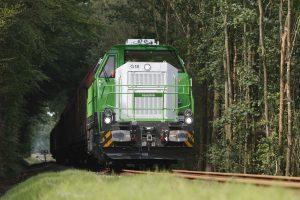 Diesel-hydraulic locomotive type G 12/G 18 (four-axle)