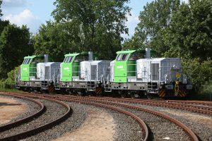Diesel-hydraulic locomotive type G 6 (three-axle)