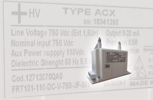 Indoor DC Voltage and Current Sensors