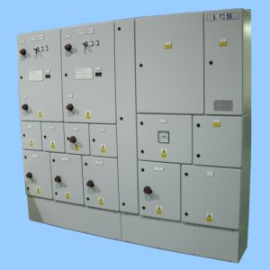 LVAC Two Panel Modular Switchboard