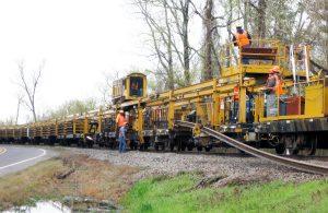 Material Handling - Rapid Rail Handling System