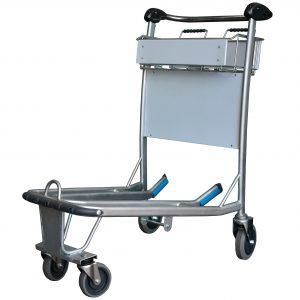 'Explorer' 4 Wheeled Stainless Steel Luggage Trolley