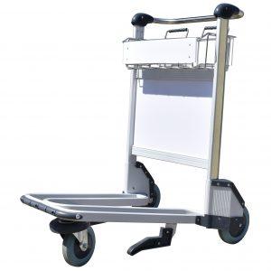 'Trafficker' Aluminium Baggage Trolley